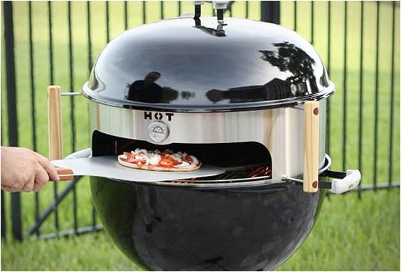 Kettle Pizza outdoor grill converter kit
