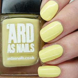 PRE-ORDER 'Ard As Nails- Creme- Daisy