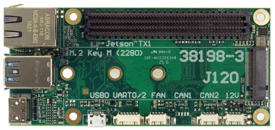 J120 carrier board for the NVIDIA® Jetson™ TX1