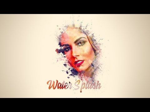 Photoshop Cc Tutorial Create A Amazing Watercolor Painting Brush