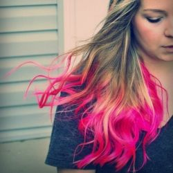 Get fun colored hair at home