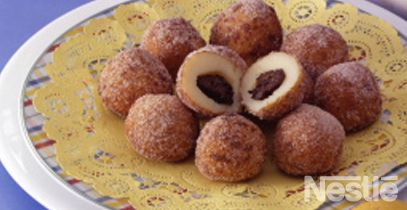 Dulces de patatas y ciruelas #recetas #nestlecocina