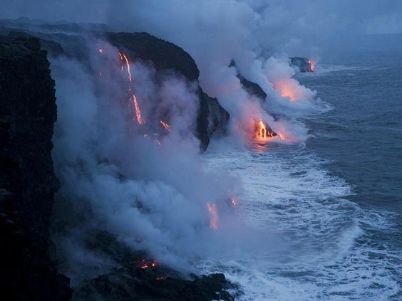 Hawaii Fire & Ice....