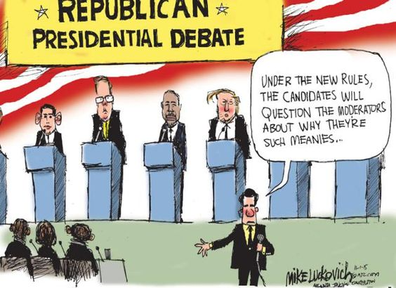 Political Cartoons of the Week: New GOP Debate Rules: