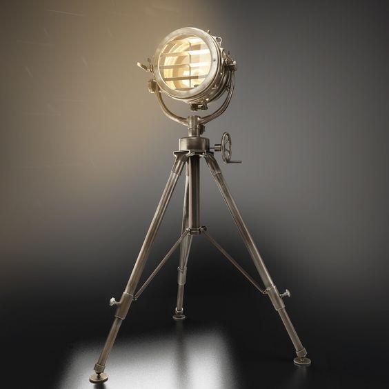 ArtStation - EICHHOLTZ Floor lamp royal master sealight, Vladislav Dimant