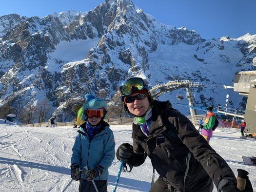 Our Christmas Holidays In The Mountains With The Kids And Our Dog Courmayeur Aosta The Ski Guru In 2020 Aosta Ski Trip Skiing