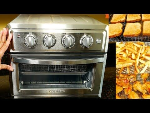 Cuisinart Air Fryer Toaster Oven Review Demo Youtube Toaster