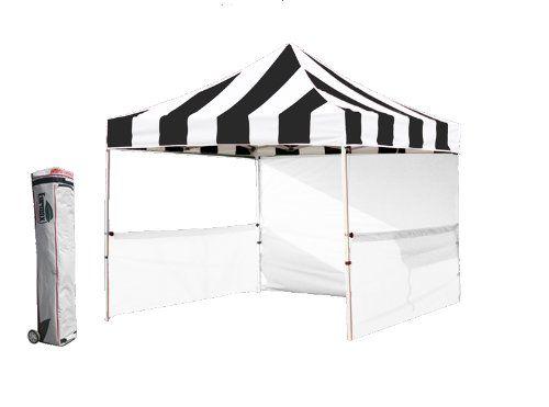 Profession 10x10 Pop up Tent Festival Canopy Portable Booth Instant Gazebo Market Stall (Stripe Black|white) Eurmax http://www.amazon.com/dp/B00C4OR3BO/ref=cm_sw_r_pi_dp_jjjRub0T2HMTK