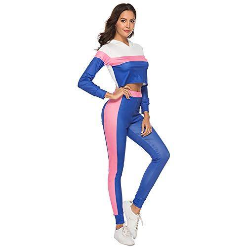 Pants Set Due Pezzi Tuta Da Ginnastica Strap SLIM Giocare Suit Tuta J2 Le donne con motivo a Plaid Tops