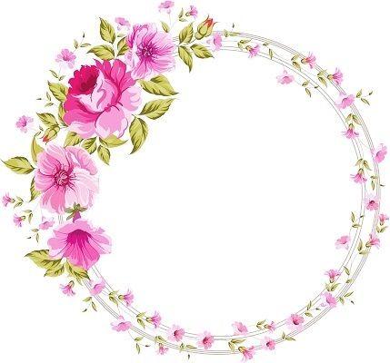 Psiu Noiva - Mais de 30 Frames Florais Para Download Grátis 27