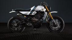 WOW! Yamaha XSR700 #StreetTracker by Bunker Custom ¡Qué rollo más brutal tiene esta #Yamaha! Una moto moderna con un estilo que deja alucinando a cualquiera | caferacerpasion.com