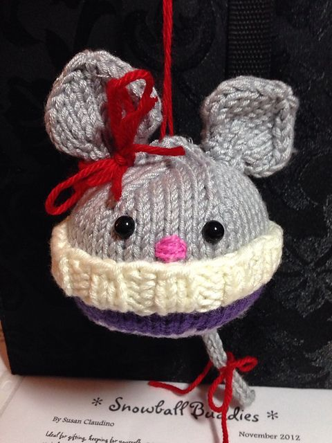 Ravelry: Aetara's Mouse Snowball Buddies