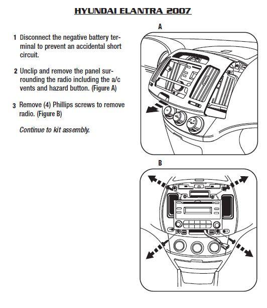 Hyundai Car Radio Stereo Audio Wiring Diagram Autoradio Connector Wire Installation Schematic Schema Esquema De Conexiones Stec Hyundai Elantra Hyundai Elantra