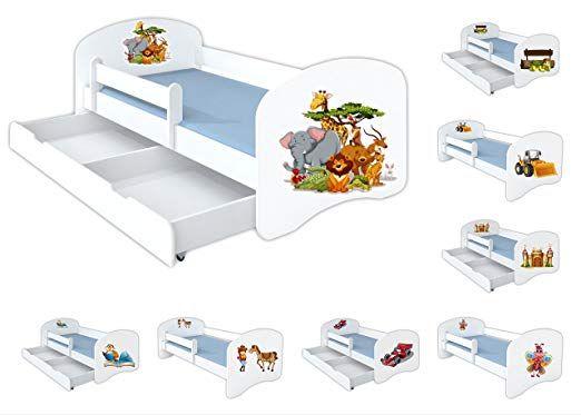 Affiliatelink Clamaro Schlummerland 140 X 70 Kinderbett Mit Rausfallschutz Und Aufkleber Mit Bettkasten A Rausfallschutz Kinderbett Kinder Bett Kinderbett
