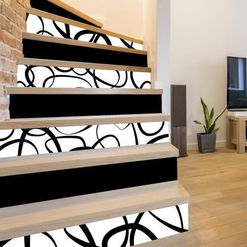 Sticker Contremarche Lot De 4 Blister Adhesif Pour Escalier Dimensions 1m X 15 Cm En 2020 Meubles Ikea Maison Cuisines Maison