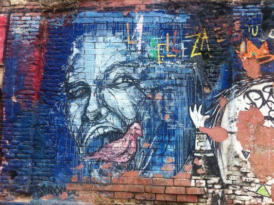 La Belleza, Madrid, #Mural #paredesquehablan