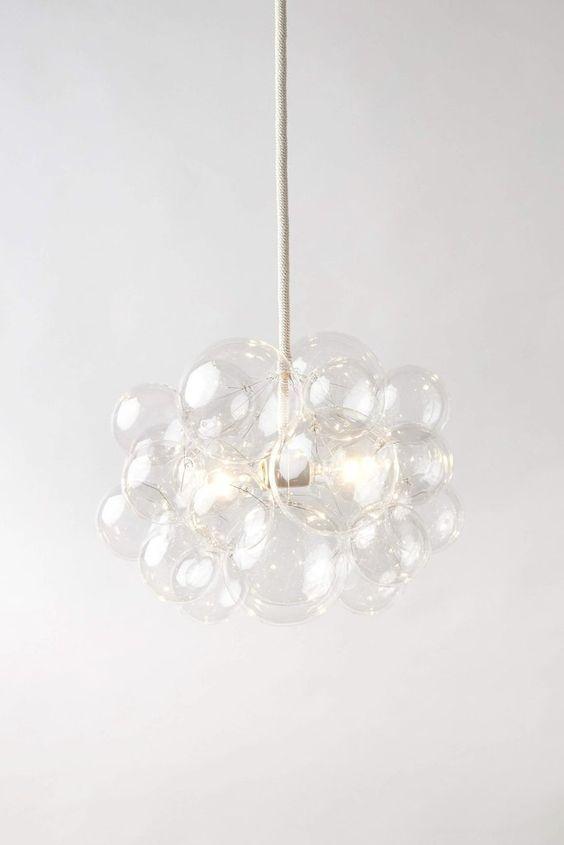 The 25 Glass Bubble Chandelier, Glass Bubble Chandelier Lighting