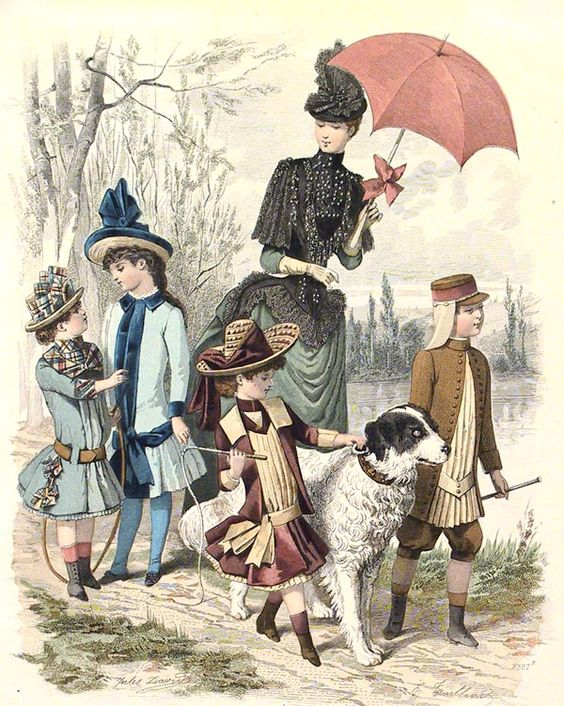 1887 - a walk with the dog
