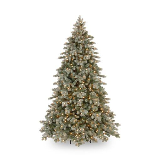 The Seasonal Aisle Poly 7 97ft Green Spruce Artificial Christmas