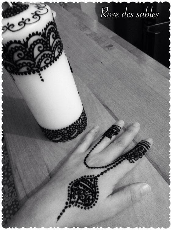 Bougie henné