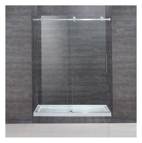 Aston Sdr976 Tr 60 10 L Frameless Shower Doors Shower Doors Frameless Sliding Shower Doors