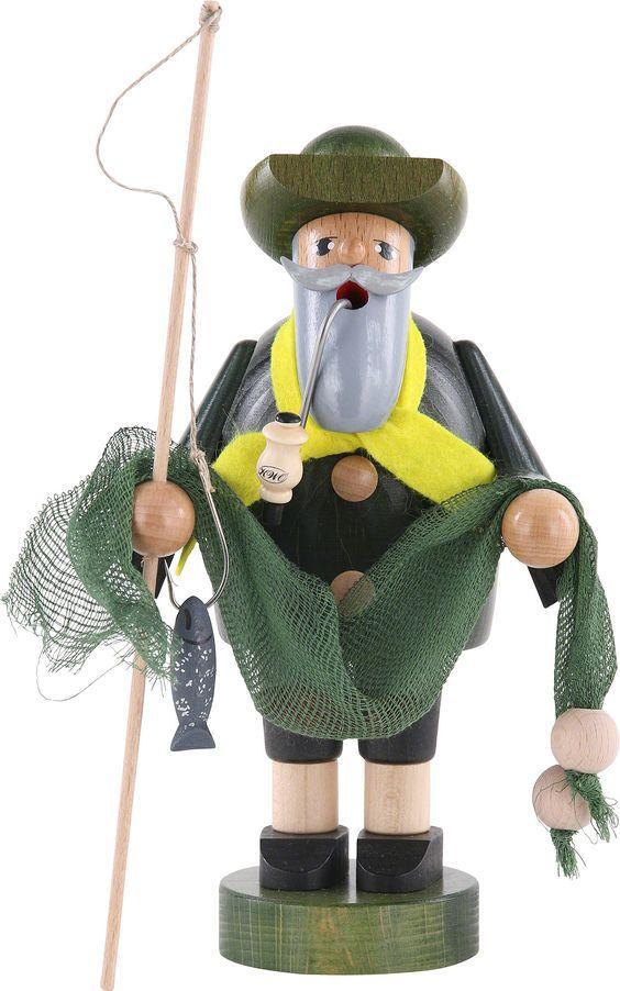 Smoker Fisherman - 18 cm / 7 inch