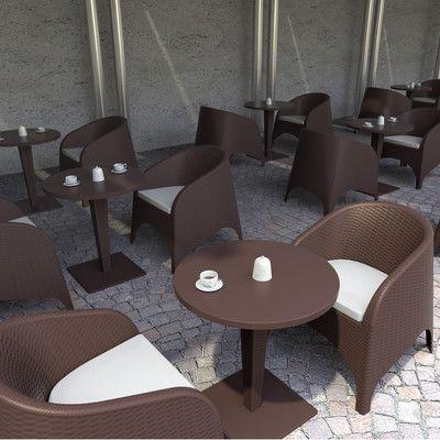 Mercury Row Jayne Aruba Stackable Lounge Chair