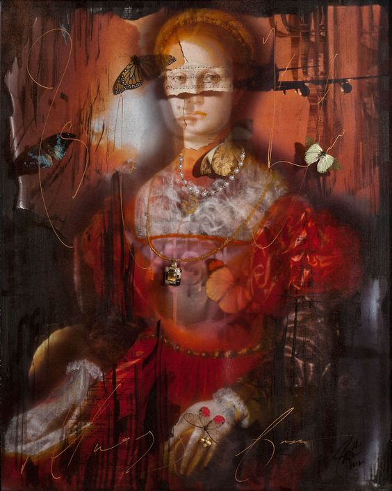"""Ingrid Dee Magidson - Contemporary Artist - Figurative Painting - """"The Butterfly Effect"""""""