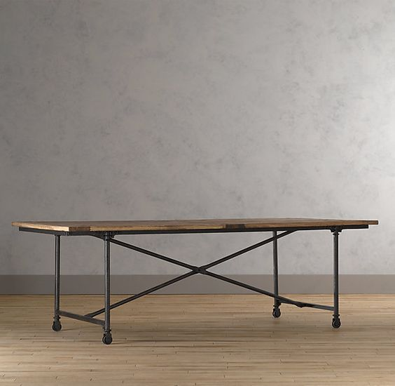 Dining Tables Restoration Hardware And Tables On Pinterest