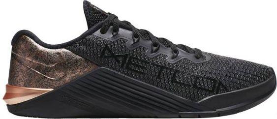 Nike Women's Metcon 5 Black x Rose Gold Training Shoes | DICK'S Sporting Goods