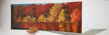 "Saatchi Art Artist Eka Peradze; Painting, ""Nature. # 139 - 30x90cm. 3D.  SOLD"" #art"