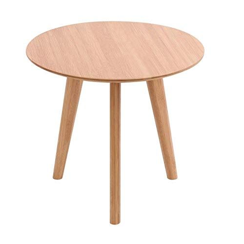 Moon Daughter 3 Legged Round Bamboo Living Table Round Coffee