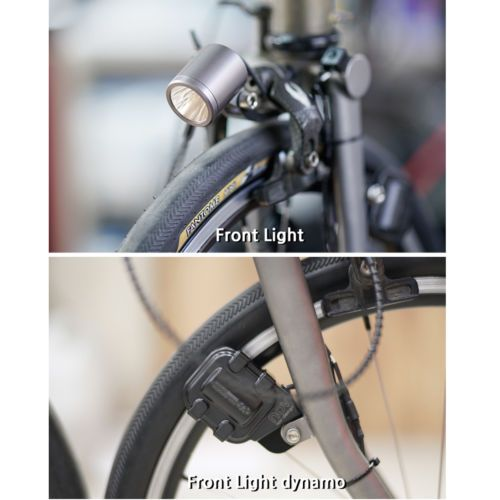 nov dynamo set for Front Light Ver3.0 Brompton ONLY // Silver contactless type
