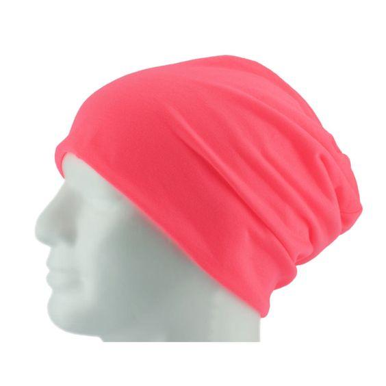 Long Beanie XXL Mütze Slouch Damen Herren Kinder Mütze - neon rosa in Bekleidung Accessoire  • Mützen Beanie