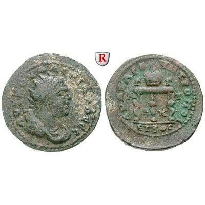 Römische Provinzialprägungen, Kilikien, Anazarbos, Valerianus I., Triassarion 253/254 (Jahr 272), f.ss/ss: Kilikien, Anazarbos.… #coins