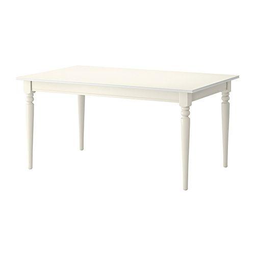 Stół Ingatorp Posiłki w stylu rustykalnym, 2 595 SEK Ikea.