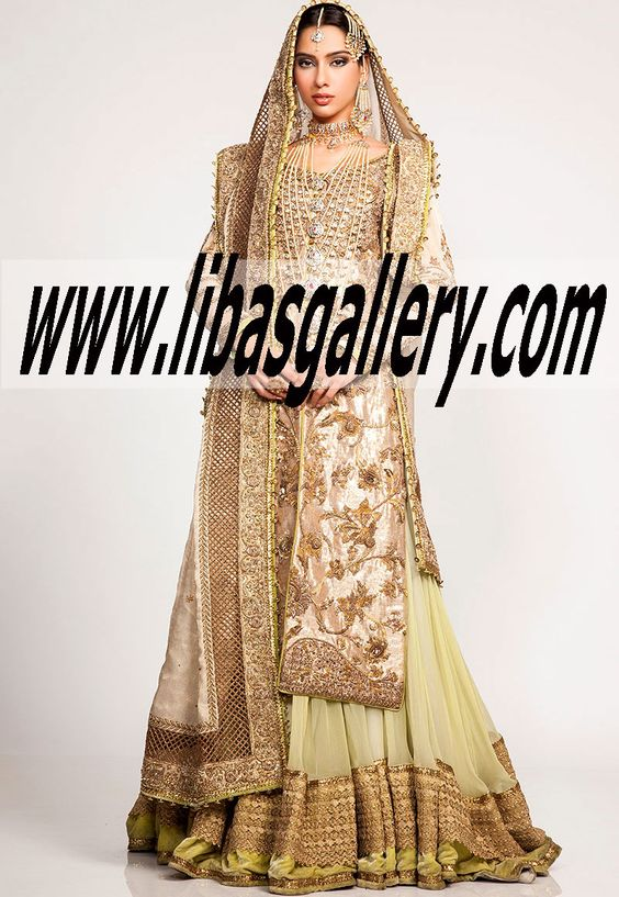 Designer fahad hussayn bridal dresses party wedding for Swedish wedding dress designer