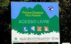 Visitantes do Pico Paraná não precisam mais pagar para entrar no parque.Foto: Divulgação IAP