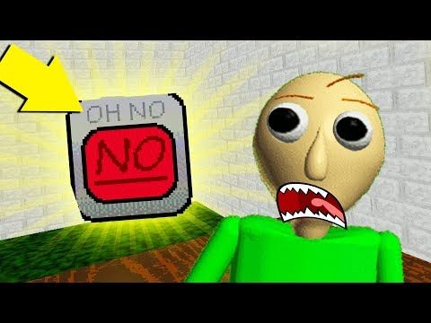 This Is The Most Powerful Item In Baldi S Basics Ever Baldi S
