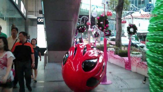 Singapur en Navidades antes de Navidades