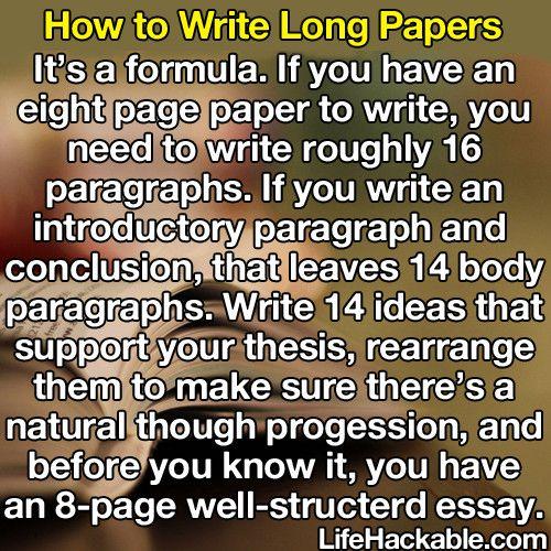 8 page essay