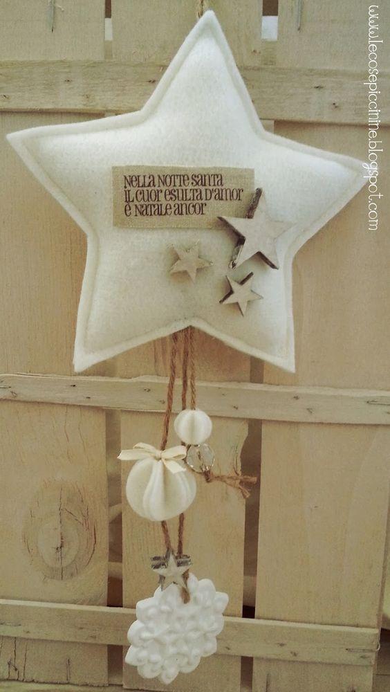 Le cose piccinine: Twinkle Twinkle Little Christmas Star - una stellina natalizia