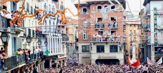 Sol y calor en las Fiestas del Ángel de Teruel