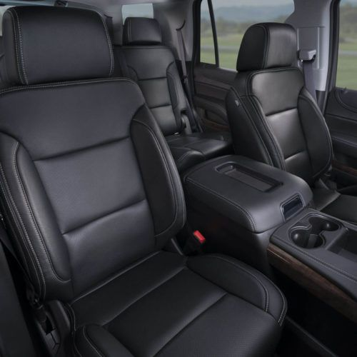 Katzkin Chevy Tahoe Black Leather Interior Chevy Tahoe Interior