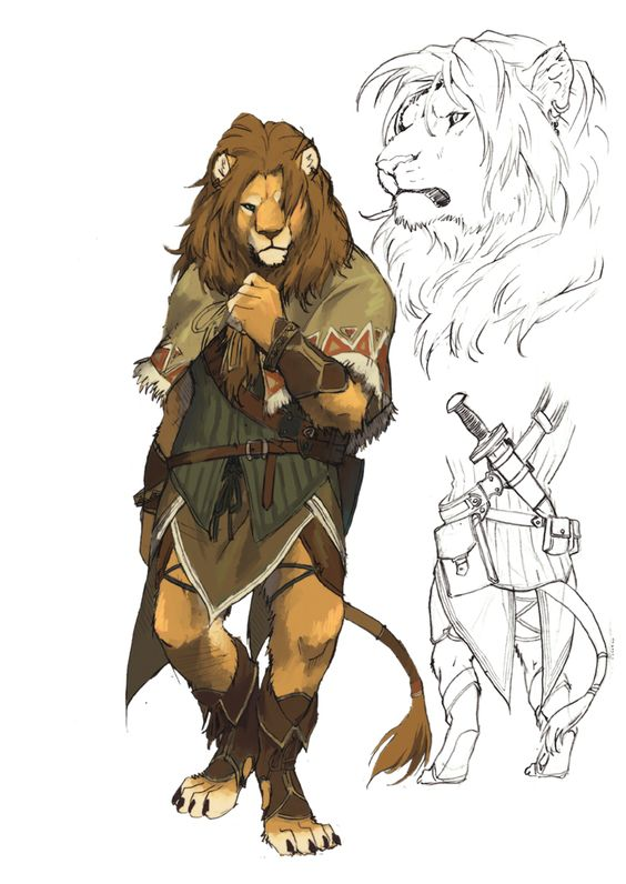 Lion, deviantART and Very well on Pinterest
