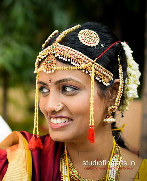 12 Inspirational Indian Bridal Hairstyles for Summer 2014 Weddings | Exploring Indian Wedding Trends