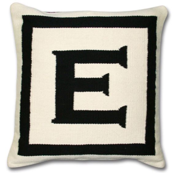I dream of jonathan Adler cushions.. Need an E + J for the bed