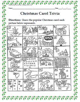 Holiday activities, Christmas carol and Winter holidays on Pinterest