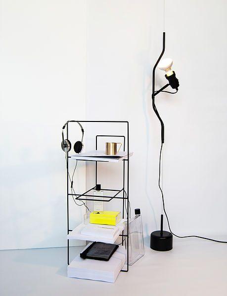 Álvaro Díaz Hernández interior and furniture designer based in Madrid, Spain  Wire collection