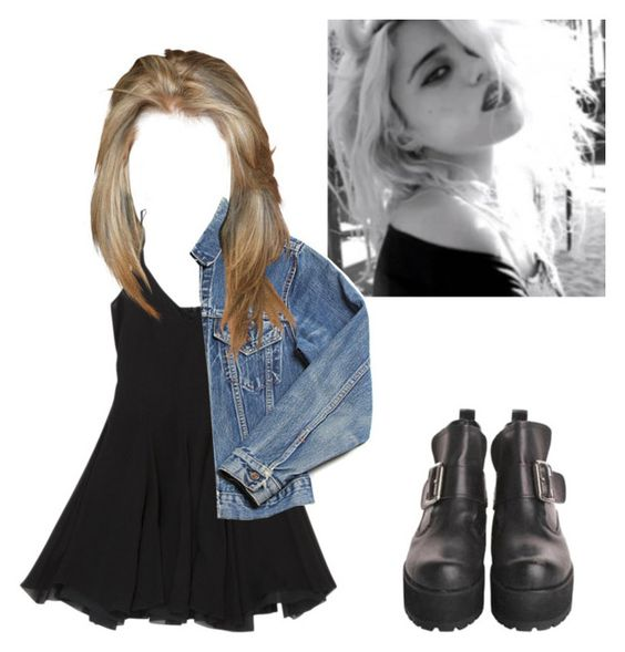 """""""steal her style: sky ferreira"""" by gb041112 ❤ liked on Polyvore featuring women's clothing, women's fashion, women, female, woman, misses and juniors"""
